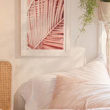 Honeymoon Hotel Pink Tropics Art Print | Urban Outfitters