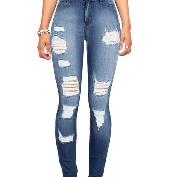 Rise and Grind High Waist Skinny Jeans