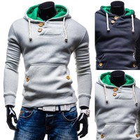 Hats Pullover Men Bags Long Sleeve Casual Hoodies [10669397827]