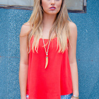 Red Hot Summer Top - Final Sale