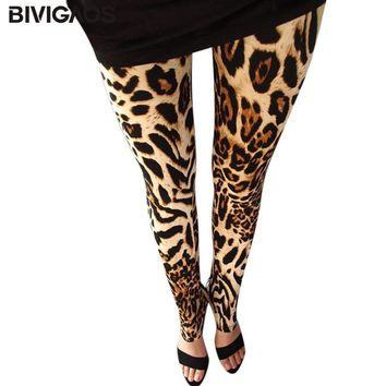 Gothic Leopard Print Leggings - Available In Different Styles