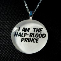 HalfBlood Prince Necklace by trophies on Etsy