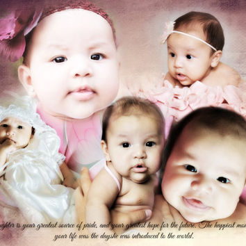 Children and Baby Nursery Photo Art Custom Photo Editing