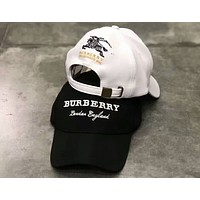 Burberry 2018 summer new men and women adult baseball cap outdoor sun hat F-A-KEN-CP