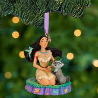 Disney Pocahontas and Meeko Sketchbook Ornament | Disney Store