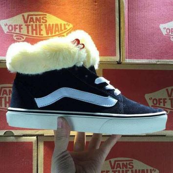 Vans Classic Fashion Casual Plus Velvet Casual Shoes