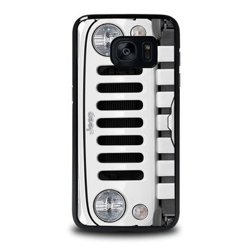 JEEP SILVER Samsung Galaxy S7 Edge Case Cover