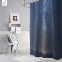 Starry Night Shower Curtain | Wanderlust Bathroom Decor | Bath Curtain | Trendy | Wanderlust | Nature Shower Curtains | Unique Gift