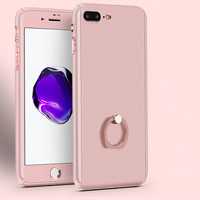 Ring Grip Stand iPhone Case | Rose Gold