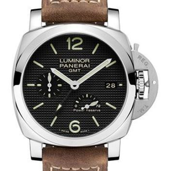 Panerai - Luminor 1950 3 Days GMT Power Reserve Automatic Acciaio - 42mm