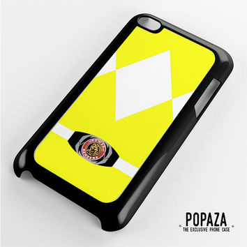 Yellow power Ranger iPod Touch 4 Case
