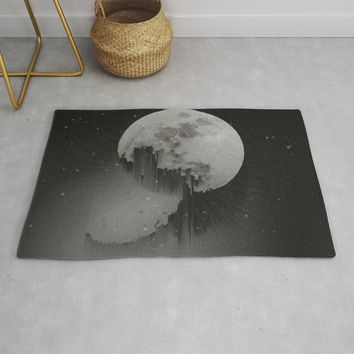 Sacred Moon Rug by duckyb