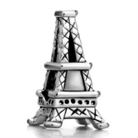 Pugster Paris Eiffel Tower Charm Beads Fit Pandora Chamilia Biagi Charms Bracelet