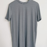 Averly Striped T-Shirt Dress