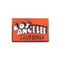 Los Angeles Postcard Pin