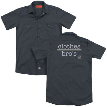 One Tree Hill - Clothes Over Bros 2 (Back Print) Adult Work Shirt