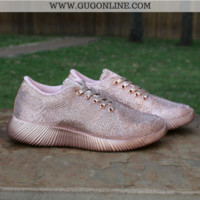 Spyrock Metallic Lace Up Sneakers in Rose Gold4 - Google Search