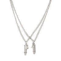 Bullet BFF Necklace Set | Hot Topic