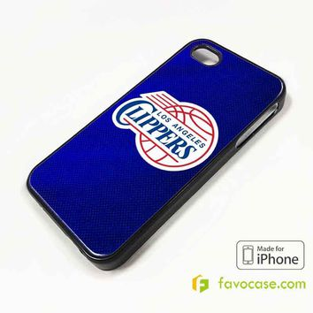 LOS ANGELES CLIPPERS iPhone 4/4S 5/5S/SE 5C 6/6S 7 8 Plus X Case Cover