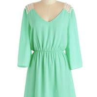 ModCloth Boho Mid-length 3 A-line Gratitude and Grace Dress