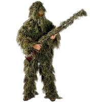 Woodland Camo Supreme Ghillie Suit 5 Piece Set by Infinity 1 Rockabilia