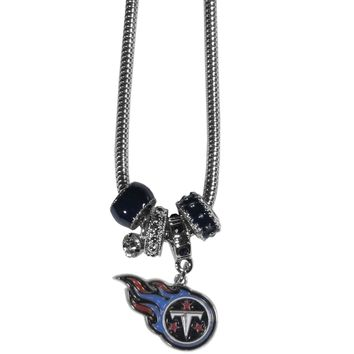Tennessee Titans Euro Bead Necklace