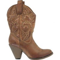 MIA Womens Western Boot Luggage - Medium (M) 8