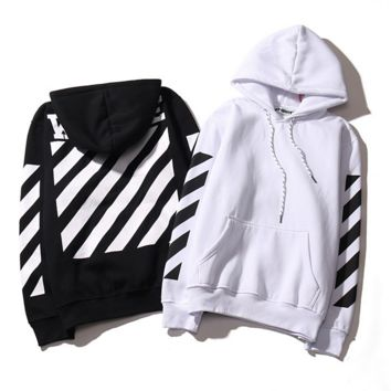 22fa3a3f073a Womens off White Striped Hoodies from Fantasy