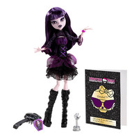 LicensedCartoons.com: Monster High Frights Camera Action New Stars Elissabat Doll