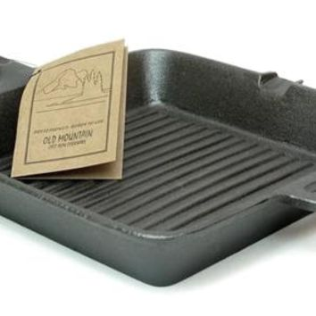 Cast Iron Square Cooking Grill Skillet