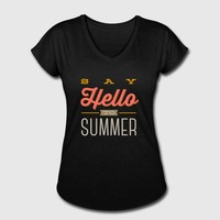 SAY HELLO TO SUMMER by IM DESIGN CREATIVE | Spreadshirt