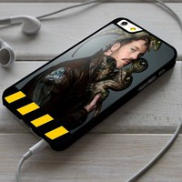 Chris Pratt Jurassic World Custom Case for iPhone 4/4s 5 5s 5c 6 6 plus 7 Case