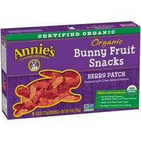 Annie's Homegrown Organic Bunny Berry Patch Fruit Snacks - 5ct