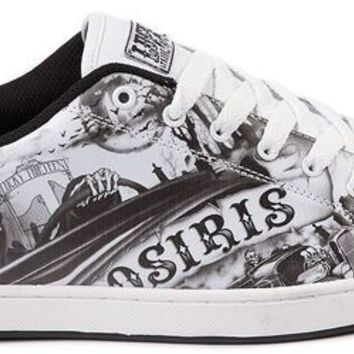 New OSIRIS Lucky 13  Troma Redux Skate Shoe Mens all sizes Mens white/black