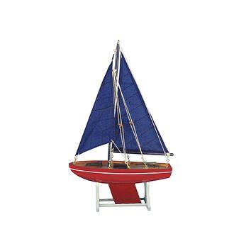 Wooden It Floats American Anchor Model Sailboat 12""