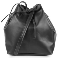 Leather Duffel Crossbody - Topshop