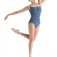 JFM Diamond Patchwork Front and Back Cami Leotard / Bloch