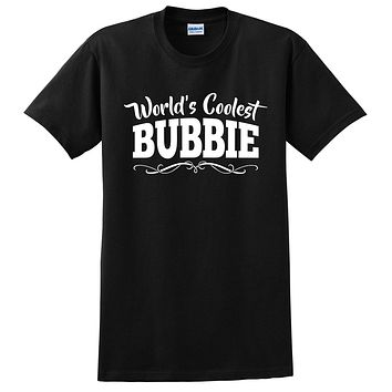 World's coolest bubbie Mother's day birthday gift ideas for new grandma proud grandmom gifts for her T Shirt