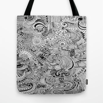 Love Within Tote Bag by DuckyB (Brandi)