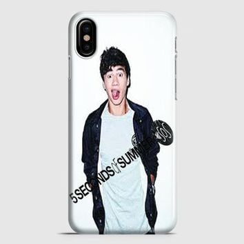 Calum Hood 5Sos Cover iPhone X Case