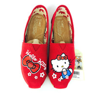 Hello Kitty Red Classic Toms