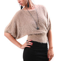 Shaggy Fur Top - Faux Fur at Pinkice.com