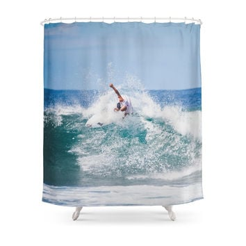 Society6 Surfer Shower Curtains