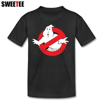 Ghostbusters Children Clothes T Shirt Infant Toddler Pure Cotton Boy Girl 2018 T-shirt Crew Neck Kid Tshirt