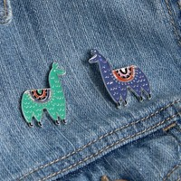 Paperchase Llamas Pin Badge Set at asos.com