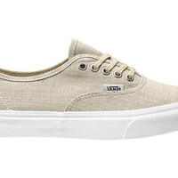 Vans Authentic Slim(Chambray)Gray/Wht