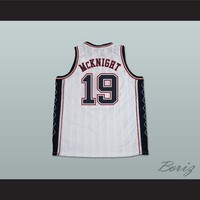 Scott McKnight 19 New Jersey Basketball Jersey Just Wright