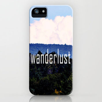 Wanderlust iPhone Case by Rachel Burbee | Society6