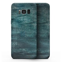 Aged Green Paint Surface - Samsung Galaxy S8 Full-Body Skin Kit