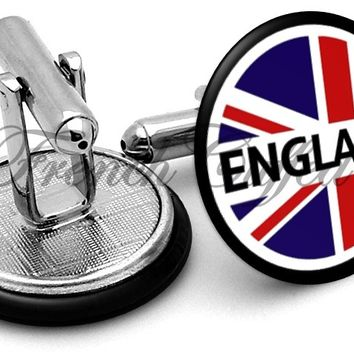 England Badge Cufflinks